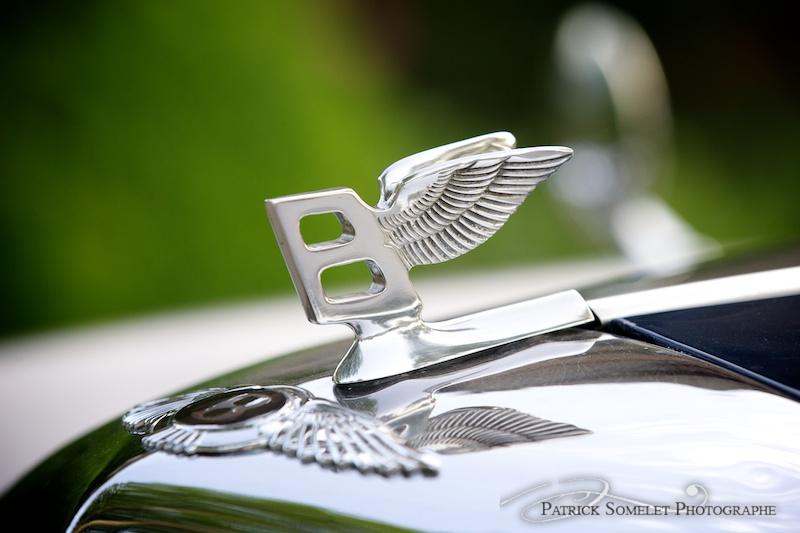 Bentley, la voiture des mariés.