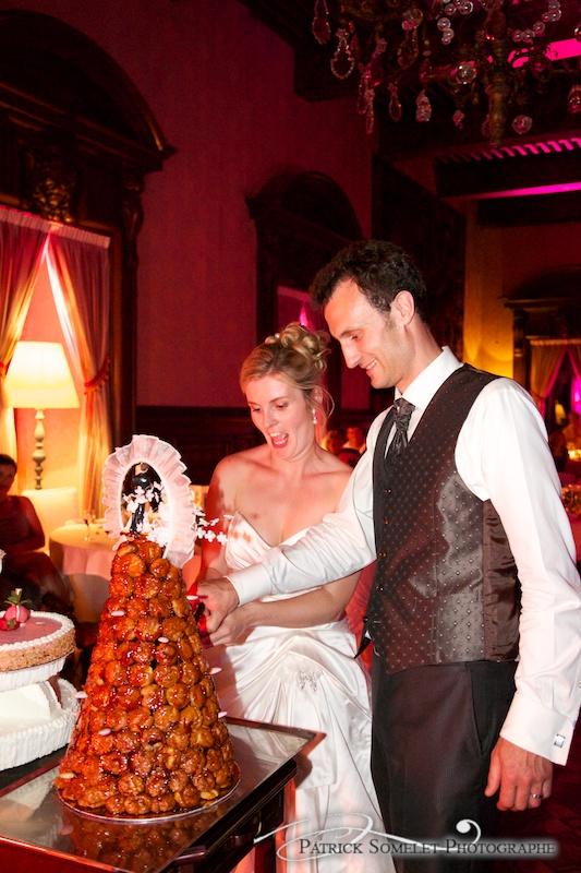 Le gâteau de mariage.