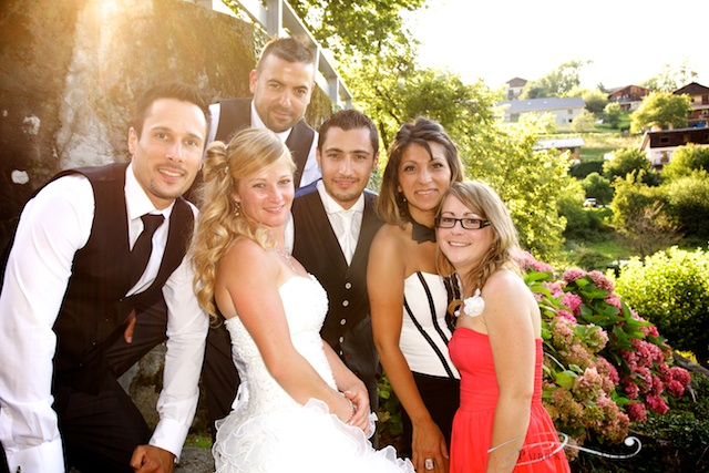 Mariage au Château de Arvillard en Savoie.