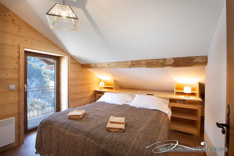 Photo d'architecture chez Mont-Blanc Lodge à Hauteluce en Savoie Rhône-Alpes.