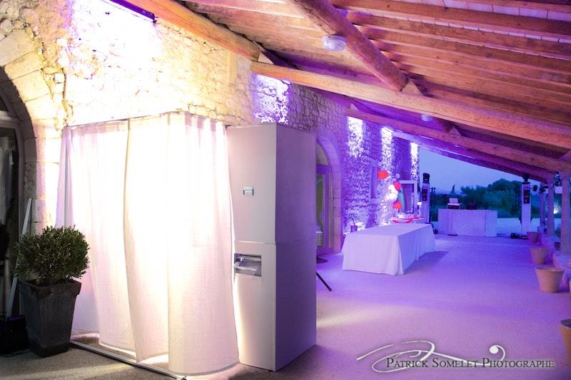 Photobooth au domène de Sarson dans la Drôme.