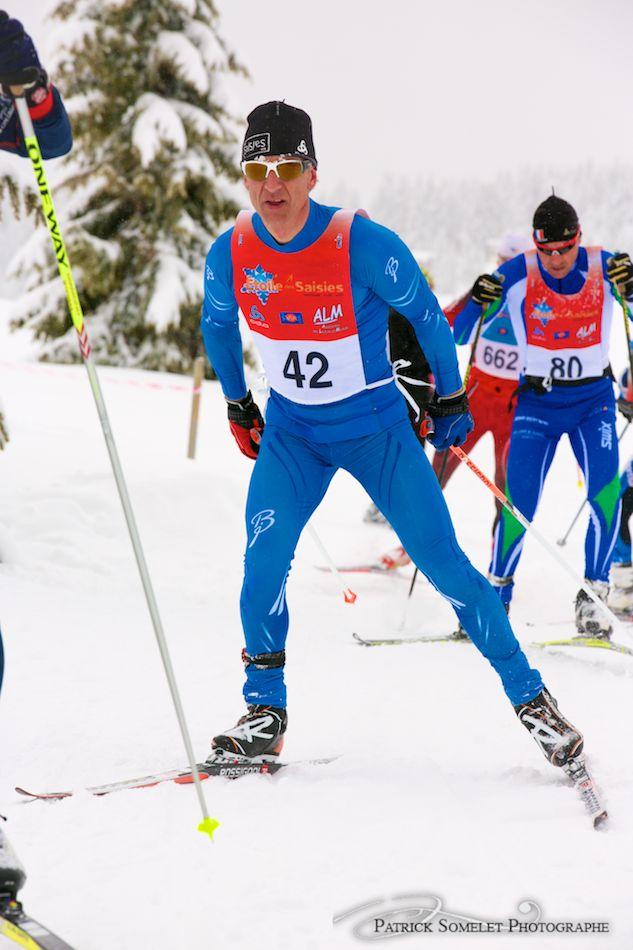 Franck Piccard sur 42 km
