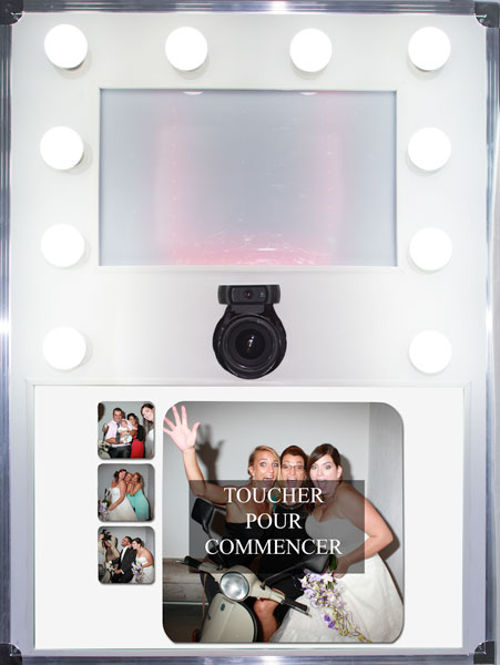 kiosque photo booth