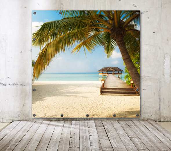 Fond Photo Booth Plage