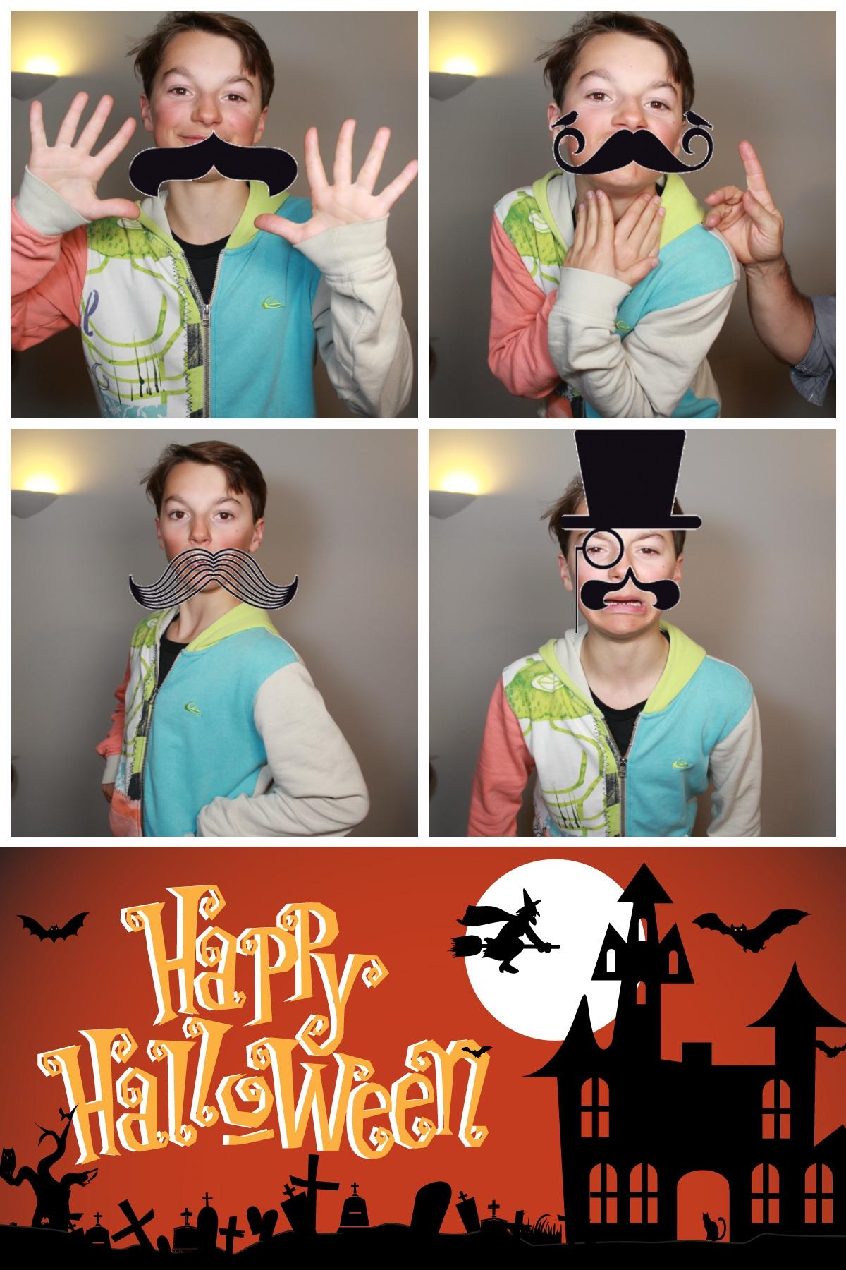 photomaton, photobooth spécial halloween.