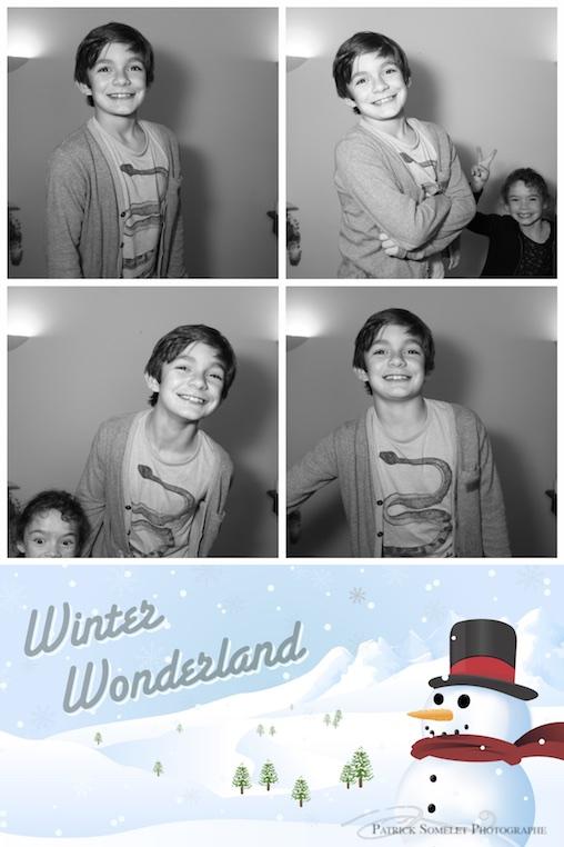 Photobooth anniversaire enfants