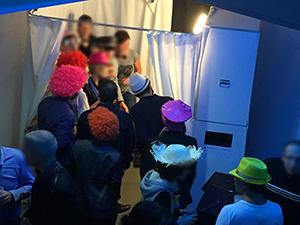 Photobooth pour un Comité d'Entreprise pour les fêtes de fin d'année.